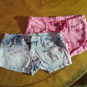 2 pairs of Size 1 Shorts!